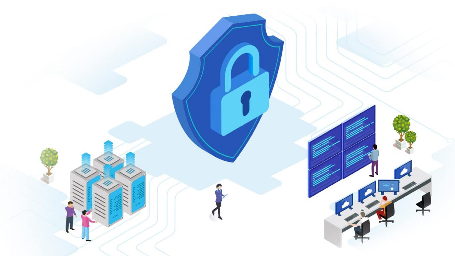 security maganement illustration
